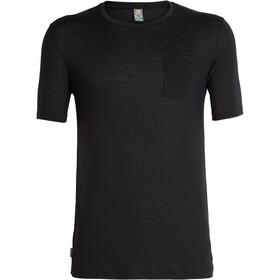 Icebreaker Elmnts SS Pocket Crewe Shirt Men black